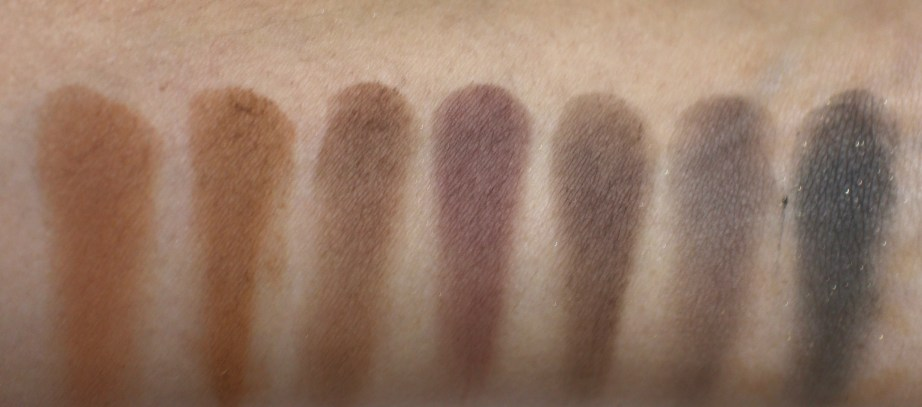 Victoria Note Eyeshadow Palette Review, Swatches, EOTD row 6