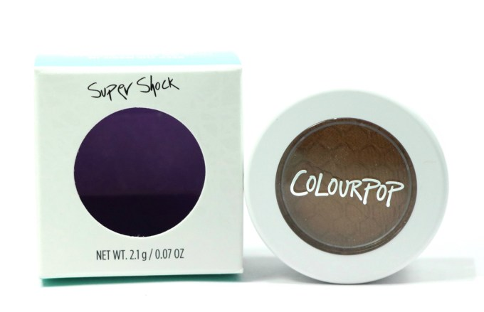 ColourPop Flutes Super Shock Shadow Review, Swatches