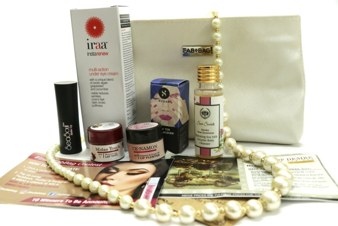 Fab Bag September 2017 The Object of Desire Review