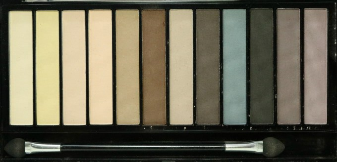 Makeup Revolution Essential Mattes Redemption Eyeshadow Palette Review, Swatches Blog MBF