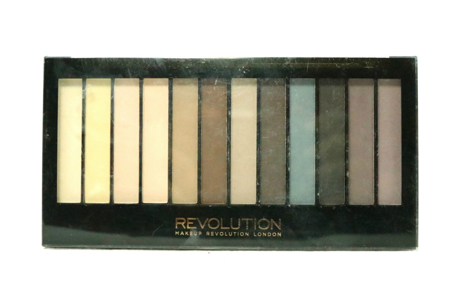 Makeup Revolution Essential Mattes Redemption Eyeshadow Palette Review, Swatches MBF