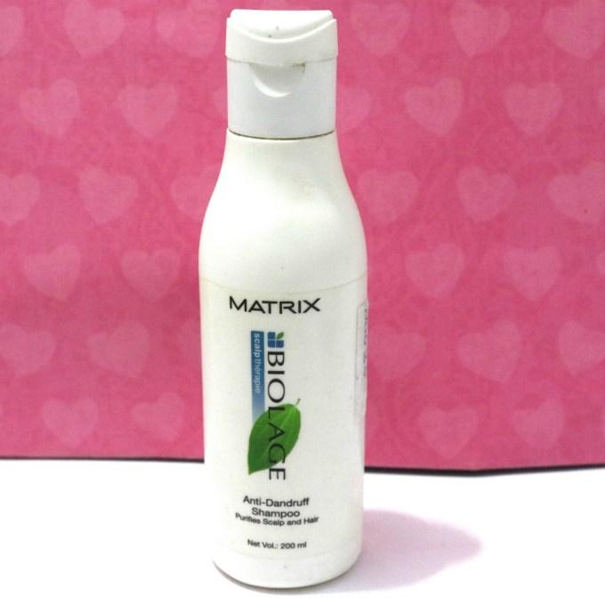 Matrix Biolage Anti Dandruff Shampoo Review