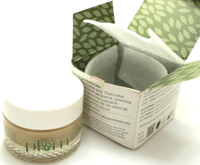 Plum Green Tea Clear Face Mask Review Box