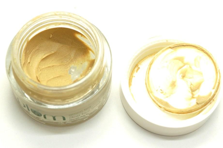Plum Green Tea Clear Face Mask Review Open