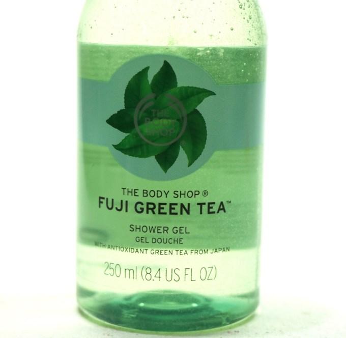 The Body Shop Fuji Green Tea Shower Gel Review 1