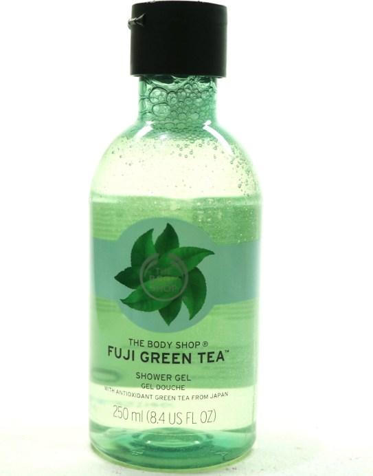 The Body Shop Fuji Green Tea Shower Gel Review MBF Blog