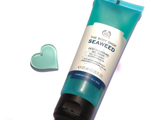The Body Shop Seaweed Deep Cleansing Gel Face Wash Review MBF
