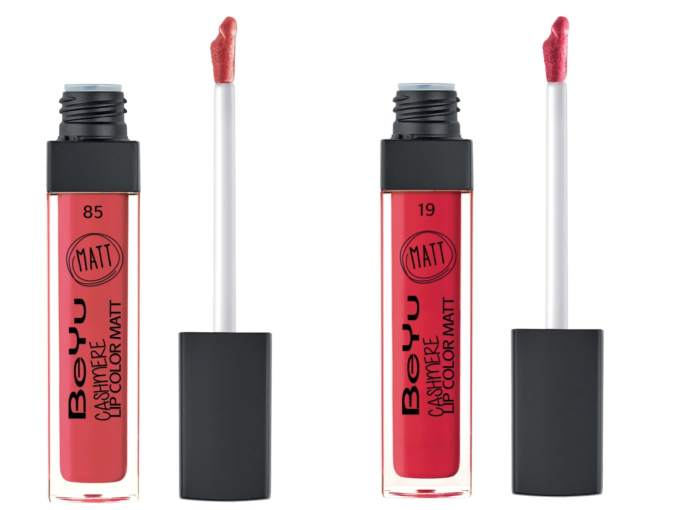 All BeYu Cashmere Lip Color Matte Liquid Lipstick Shades Review, Swatches