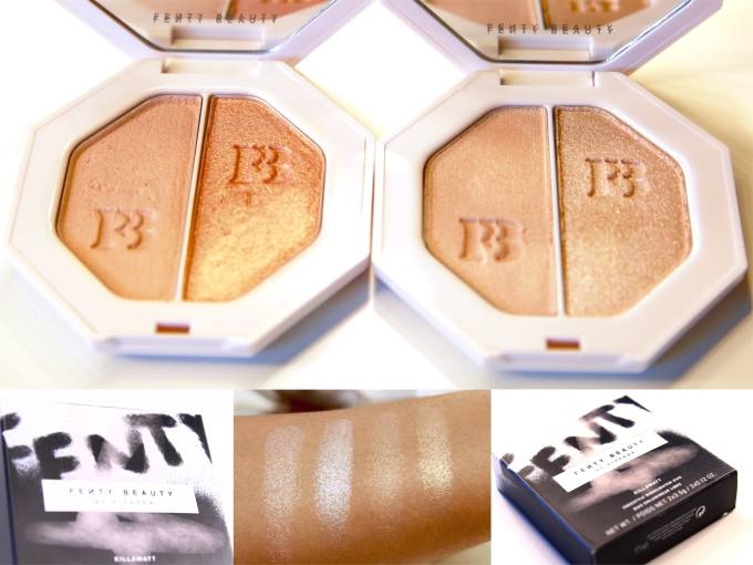 Fenty Beauty Killawatt Freestyle Highlighters Review, Swatches