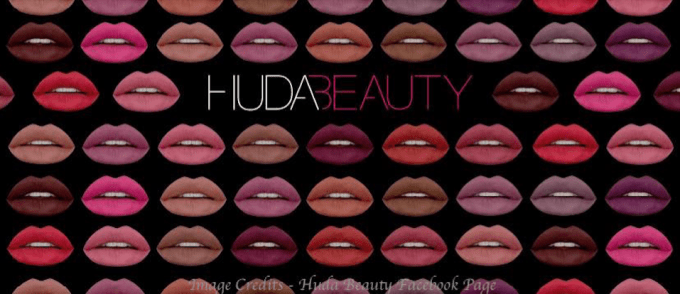 HUDA Beauty Liquid Lipsticks India - HUDA Beauty Facebook page