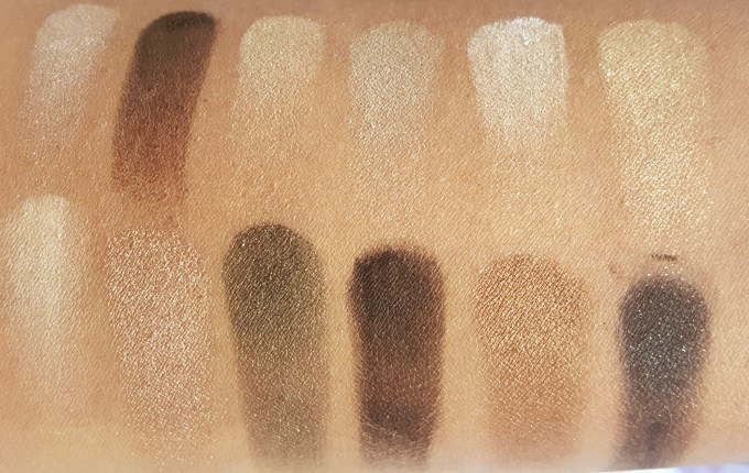 Maybelline 24K Nudes Eyeshadow Palette Review, Swatches MBF Blog