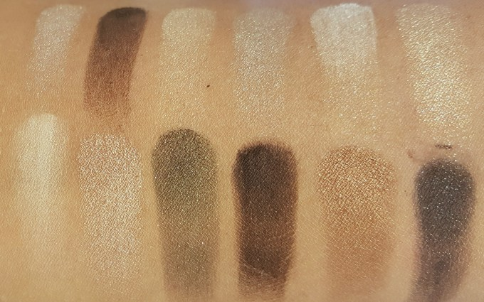 Maybelline 24K Nudes Eyeshadow Palette Review, Swatches MBF