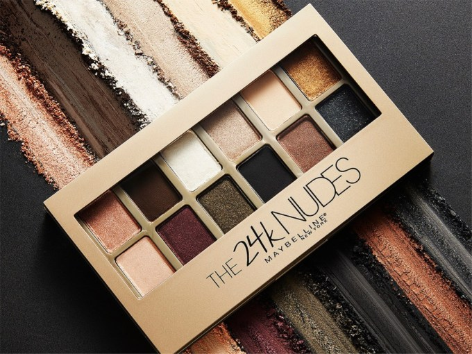 Maybelline The 24K Nudes Eyeshadow Palette Review, Swatches