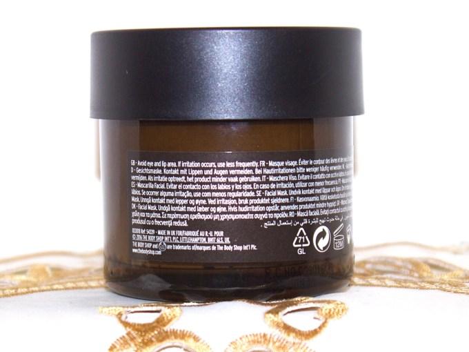 The Body Shop Chinese Ginseng & Rice Clarifying Polishing Mask Review Info