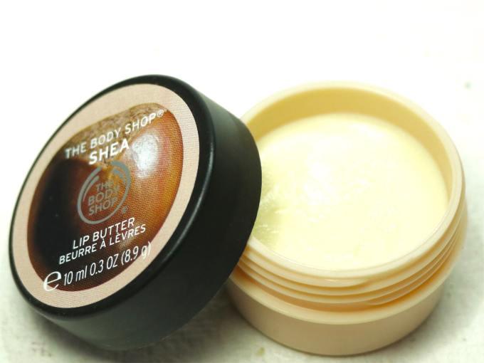 The Body Shop Shea Lip Butter Review MBF
