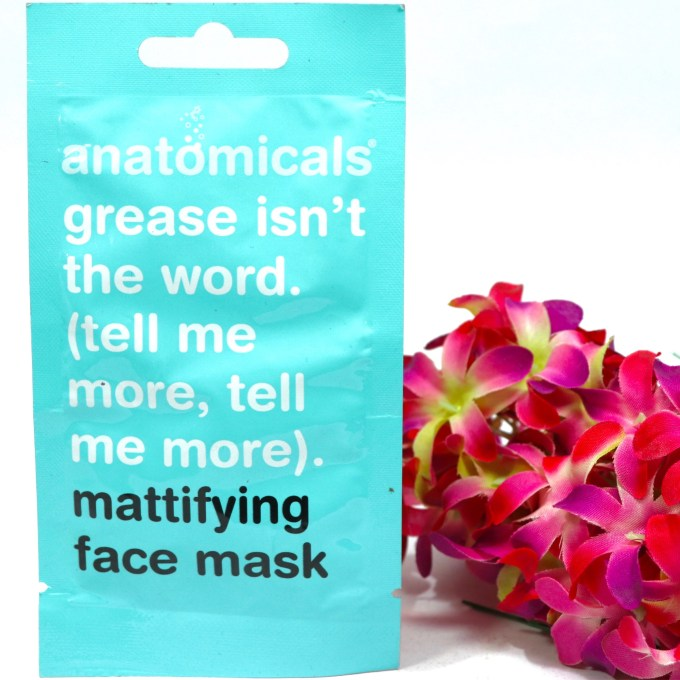 Anatomicals Grease Isn't the Word Mattifying Face Mask Review