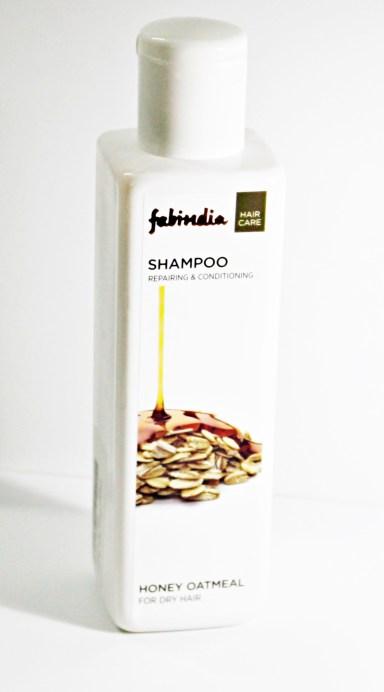 Fabindia Honey Oatmeal Shampoo Review MBF