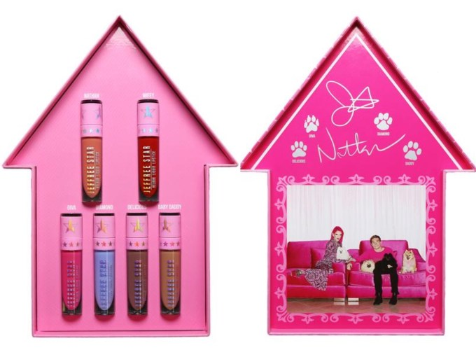 Jeffree Star Family Collection Lipsticks packaging