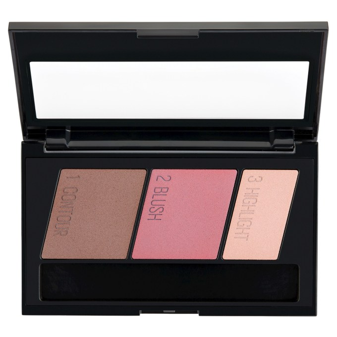 Maybelline Face Studio Master Contour Palette Kit Review, Swatches open
