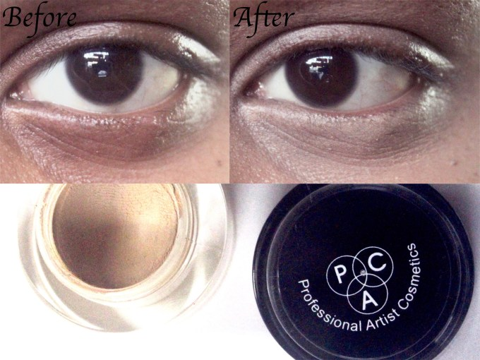 PAC Spot Concealer Pot Review, Shades, Swatches Before After