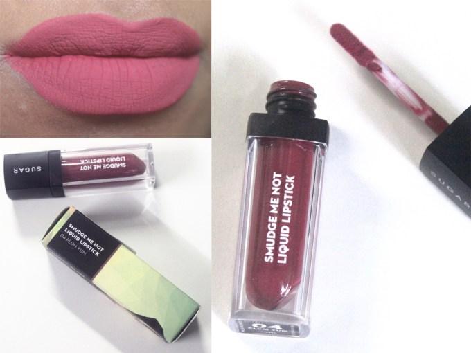Sugar Smudge Me Not Liquid Lipstick Plum Yum 04 Review, Swatches blog MBF