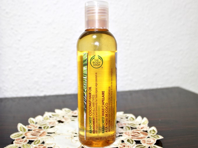 The Body Shop Rainforest Coconut Hair Oil Review