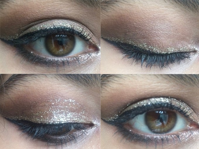 Urban Decay Heavy Metal Glitter Eyeliner Midnight Cowboy Review, Swatches Eye Makeup MBF Blog