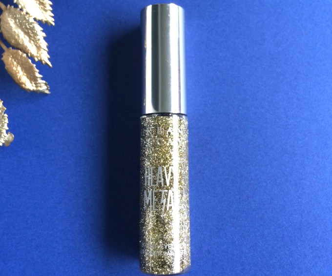 Urban Decay Heavy Metal Glitter Eyeliner Midnight Cowboy Review, Swatches MBF