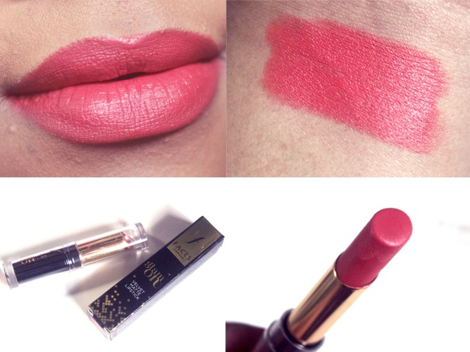 Faces Glam On Velvet Matte Lipstick Terra Cotta 12 Review, Swatches MBF Blog