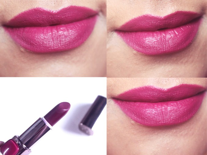 L'Oreal Plum Mannequin 235 Color Riche Moist Matte Lipstick Review, Swatches On Lips MBF Blog
