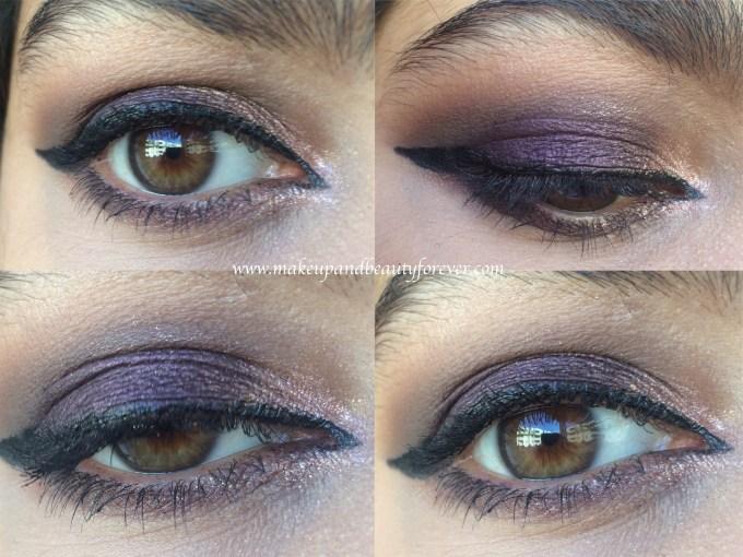 Laura Mercier Caviar Stick Eye Colour Plum Review, Swatches Glam Purple Eye Makeup Look