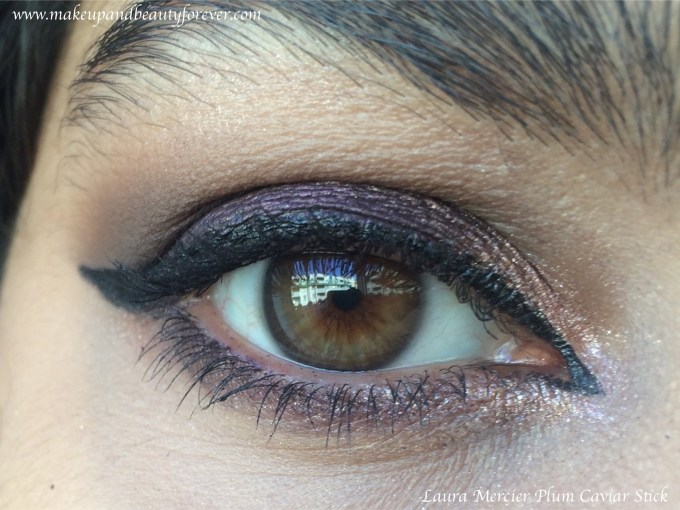 Laura Mercier Caviar Stick Eye Colour Plum Review, Swatches Gorgeous Purple MBF Eye Makeup