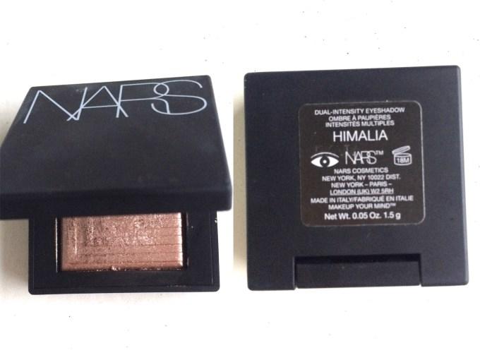 NARS Himalia Dual Intensity Eyeshadow Review, Swatches MBF Blog