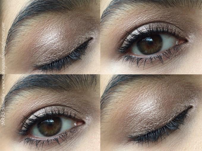 NARS Himalia Dual Intensity Eyeshadow Review, Swatches MBF Day Eye Makeup