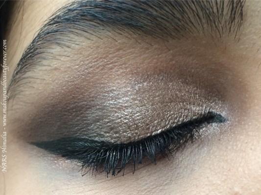 NARS Himalia Dual Intensity Eyeshadow Review, Swatches MBF Soft Smoky Eye Makeup