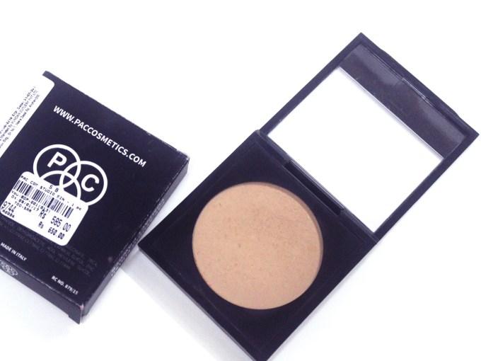 PAC Studio Finish Compact Powder Review, Shades