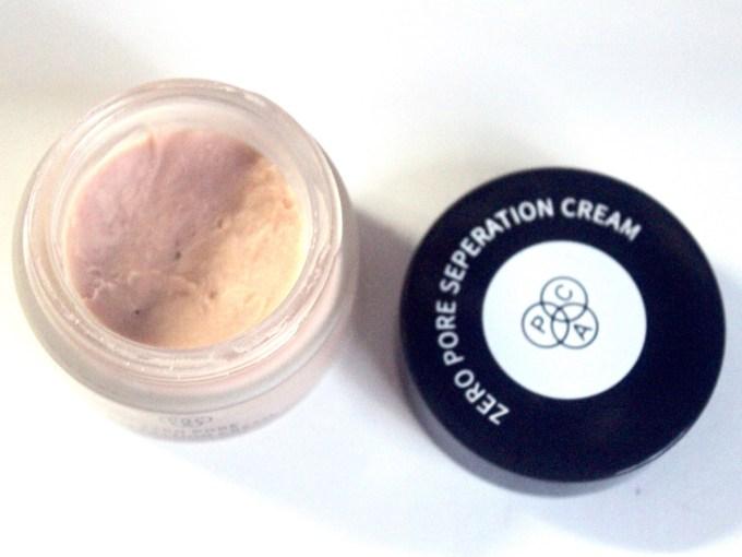 PAC Zero Pore Separation Cream Review, Shades, Swatches MBF Blog