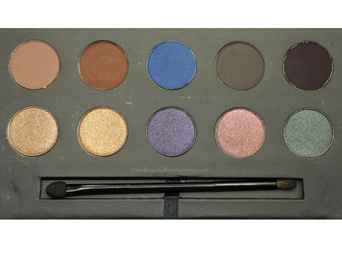 Sugar Blend The Rules Eyeshadow Palette Firework 02 Review, Swatches Closeup