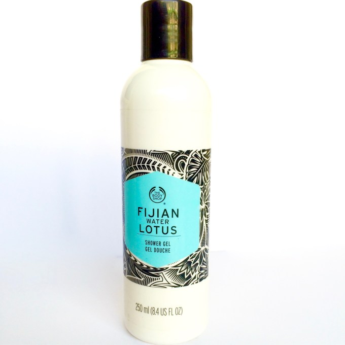 The Body Shop Fijian Water Lotus Shower Gel Review