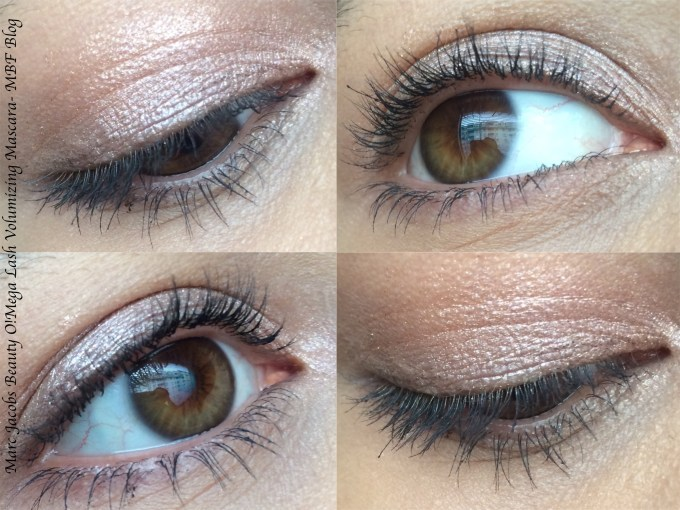 Marc Jacobs Beauty O!Mega Lash Volumizing Mascara Blacquer Review, Swatches MBF Blog Eye Makeup