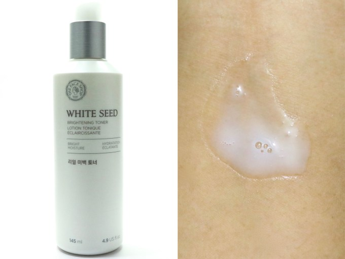 The Face Shop White Seed Brightening Toner Review MBF Blog
