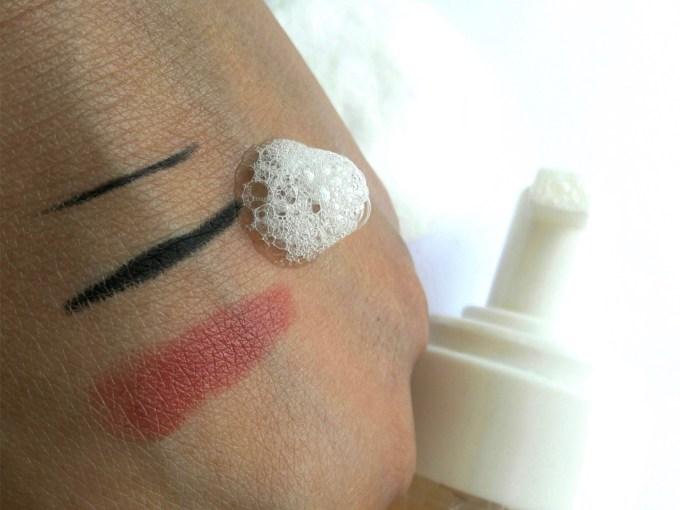 Fabindia Panch Pushp Makeup Remover Review Demo 2