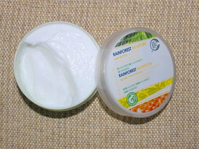 The Body Shop Rainforest Moisture Hair Butter Review MBF Blog