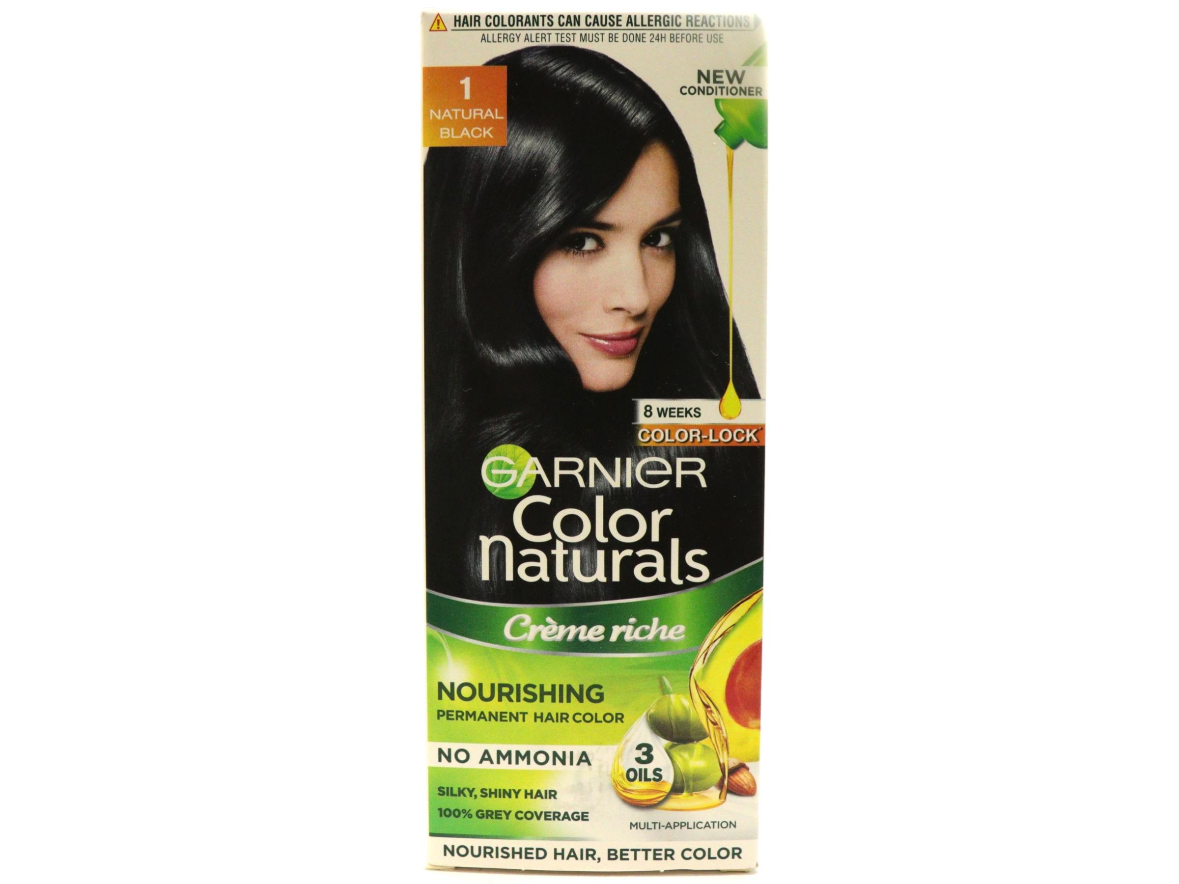 Garnier Color Naturals Creme Rich Hair Color Natural Black 1 Review