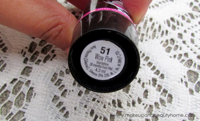 elle 18 wow pink shade 51