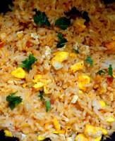 Egg fried rice!