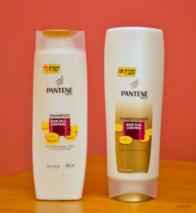 pantene hair fall control shampoo conditoner