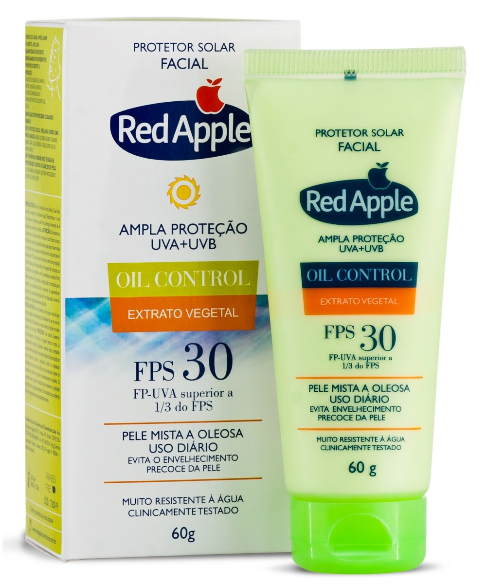 4 Protetores Solares Faciais Veganos da Red Apple