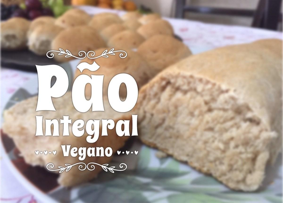 Pão Integral Vegano Súper Fácil