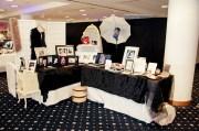 makeup artist bridal show booth